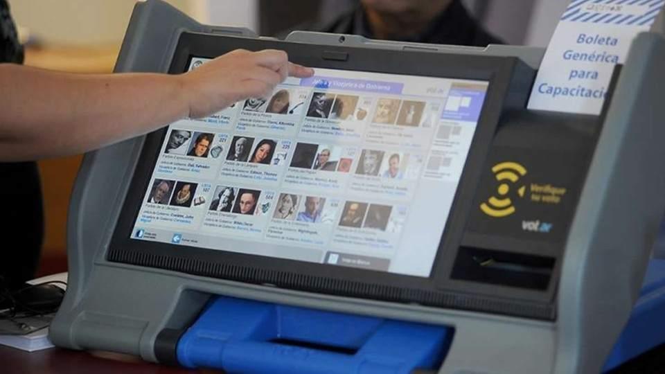 Resultado de imagen para argentina voto electronico