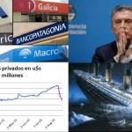 Crece el temor de los ahorristas: se fueron el 7,3% de depósitos en dólares de los bancos argentinos en solo una semana