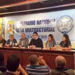 Gustavo Vera: «La elección de octubre es punto de inflexión para sacarnos la bota de los yanquis de encima». 21F Plenario Nacional de la Multisectorial