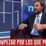 Santiago Cafiero anunció aumentos salariales en el sector privado y en el público