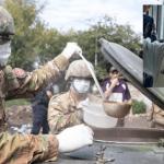 El Ejército junto a curas villeros reparten asistencia en La Matanza