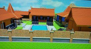 membangun rumah kayu