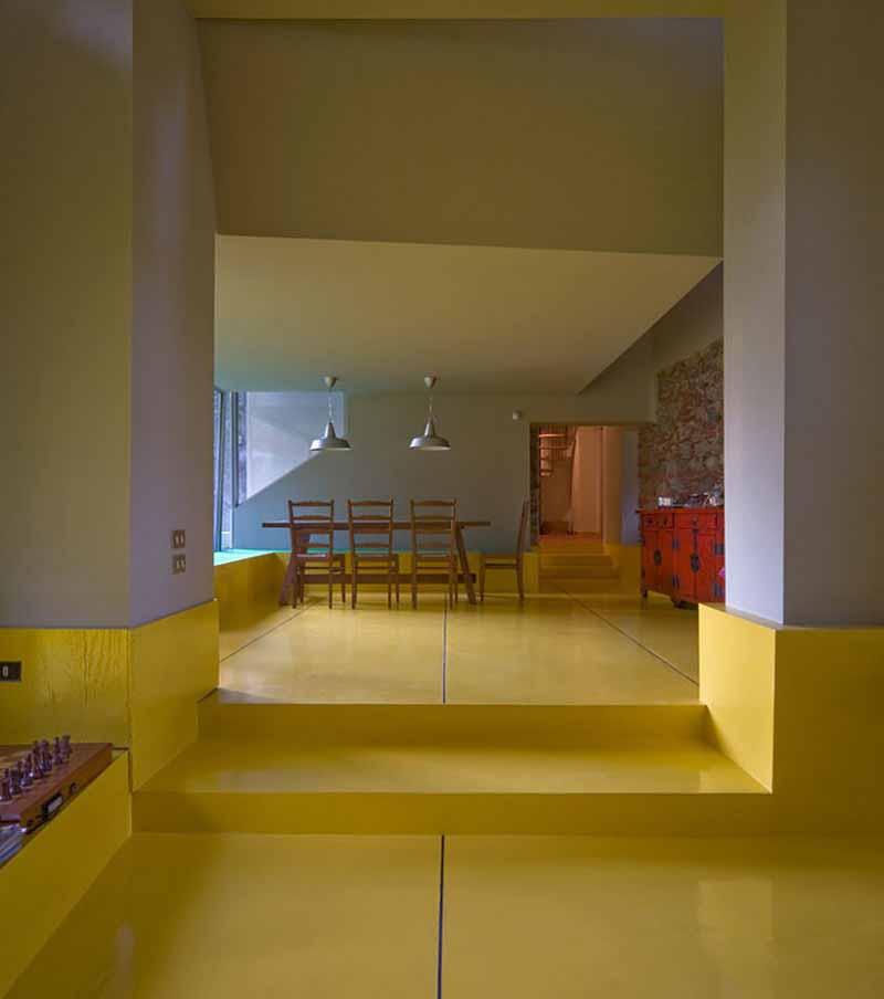 8 Interior Rumah Minimalis Perpaduan Warna Kuning