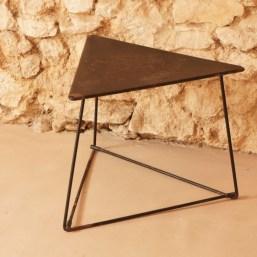 Table basse métal