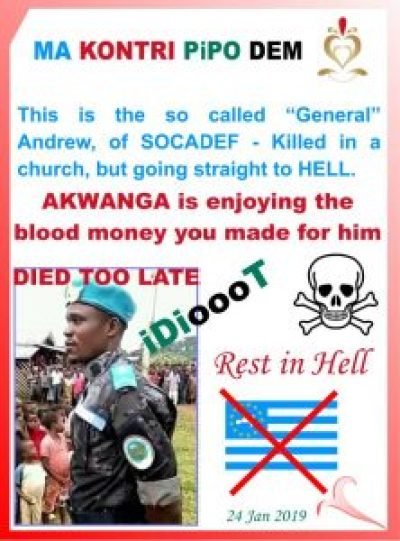 General Andrew - Died too late