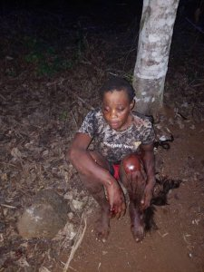 This is what Amba Terrorists are doing to innocent people in Cameroon