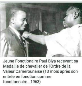 Young Paul Biya - 1963