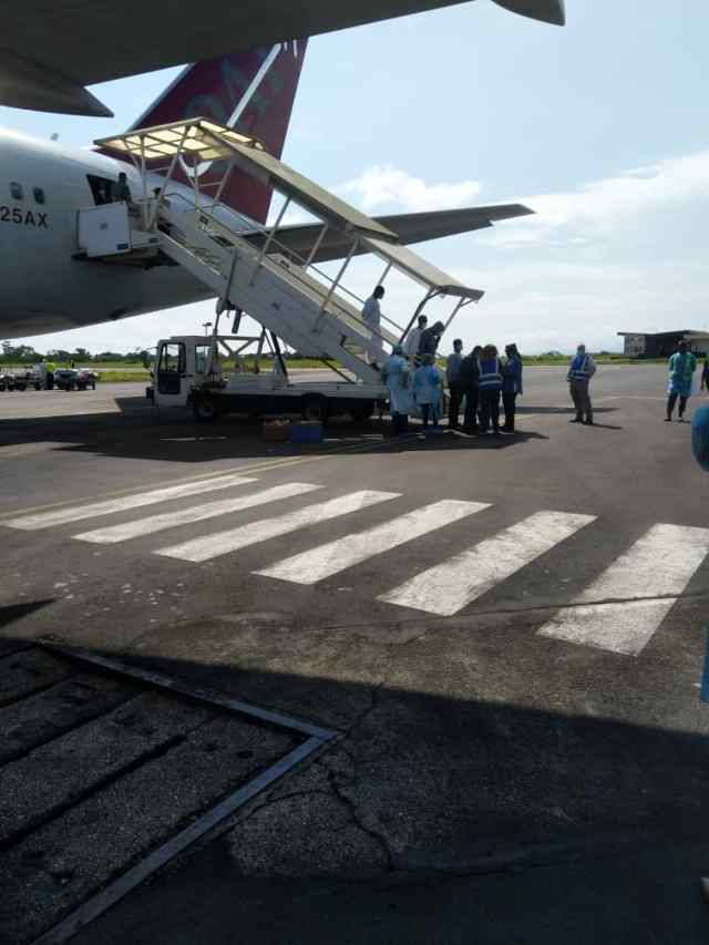 Cameroonians repatriated from the USA arrive Cameroon on 14 Oct 2020