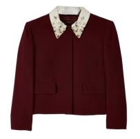 Sequined Collar Jacket, Miu Miu $737
