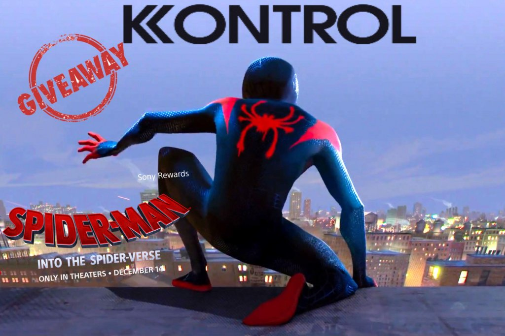 , Spider-Man: Into the Spider-Verse GIVEAWAY