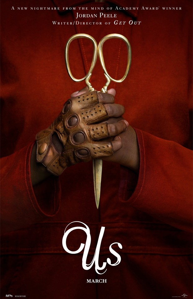 us movie scissors poster jordan peele us movie scissors poster jordan peele