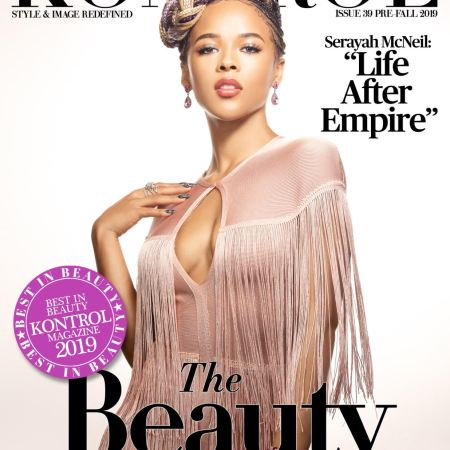 serayah covers kontrol magazine