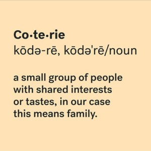 coterie for Kontrol Mompreneur