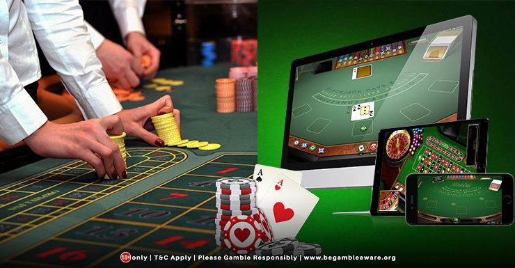 Online casinos versus land-based casinos