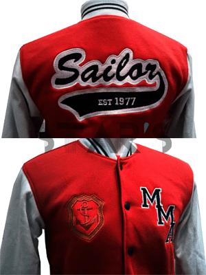 Jaket Tempahan Varsity Sailor Malaysia