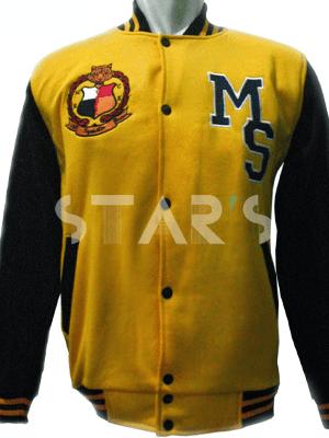 Jacket Varsity Tempahan MCKK (Malay College Kuala Kangsar)