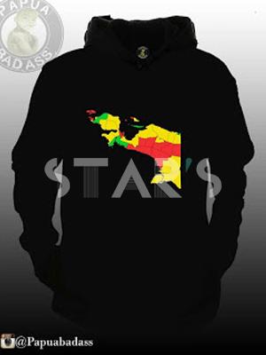 Hoodie Sweater Komunitas Papua Badass
