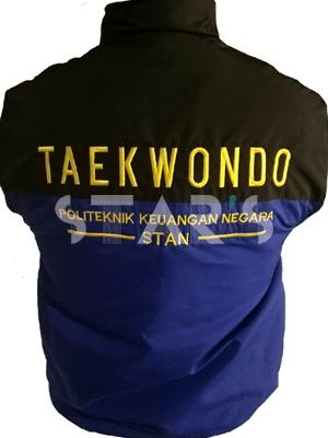 Jaket Training Taekwondo Politeknik Keuangan Negara