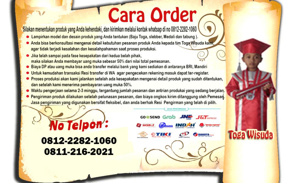 Hubungi Harga Toga Wisuda Anak Kota Pekanbaru