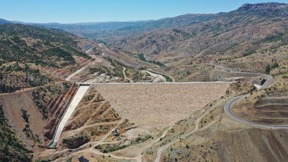 Bozkır Barajı su tutmaya başladı