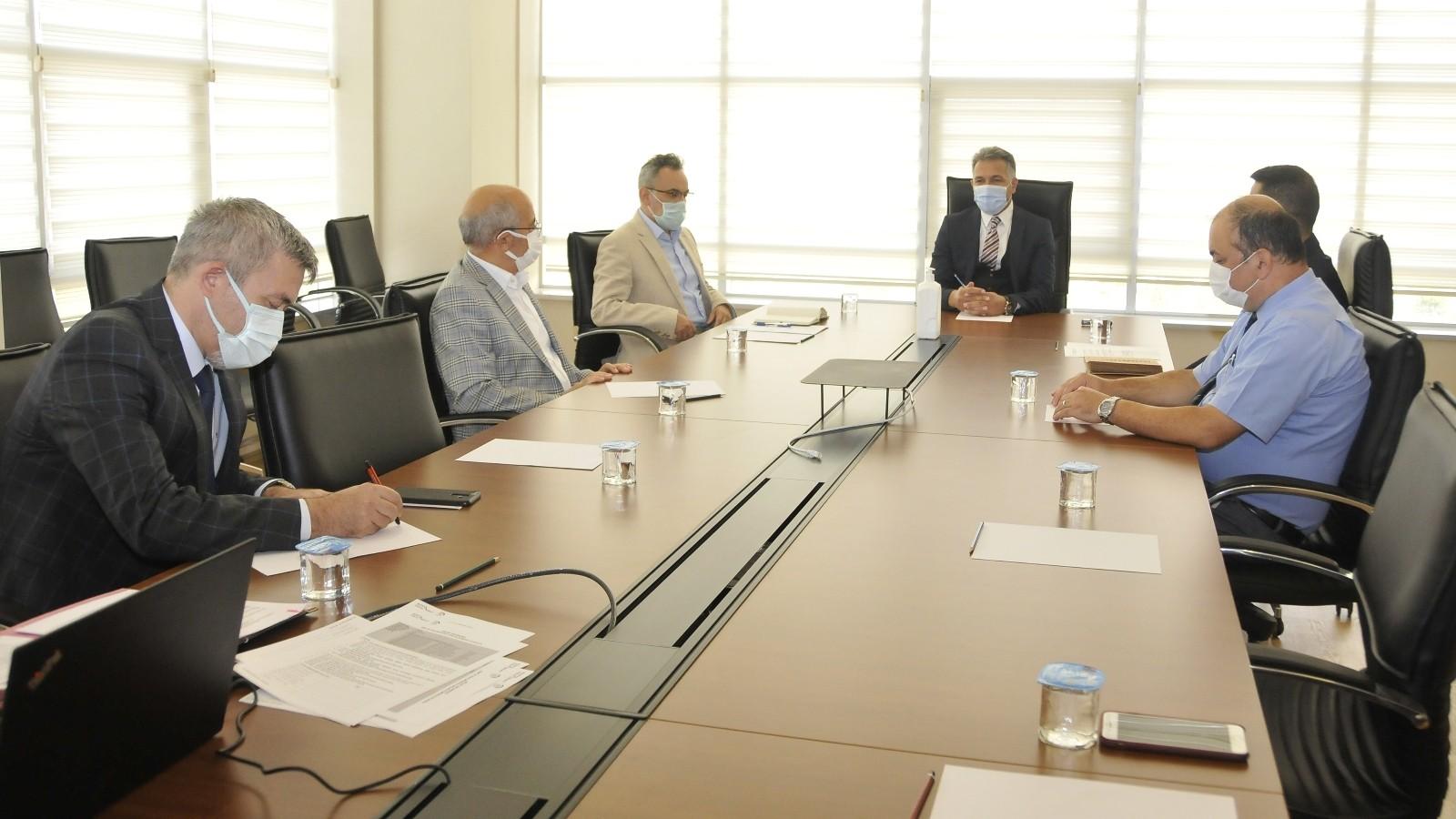 SÜ'de Konya Teknokent Patent Kurulu Toplantısı yapıldı