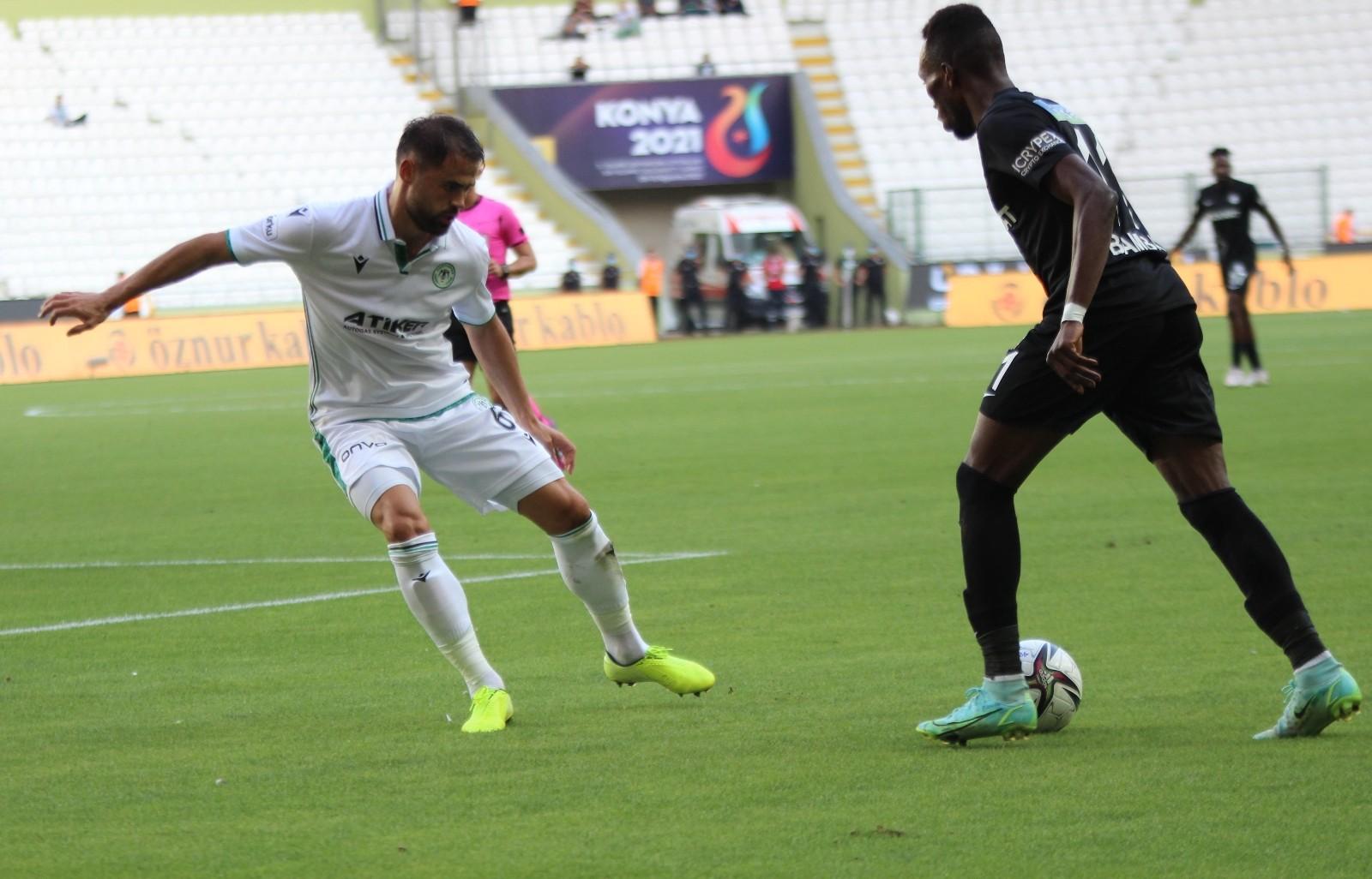Süper Lig: Konyaspor: 2 – Altay: 0 (İlk yarı)