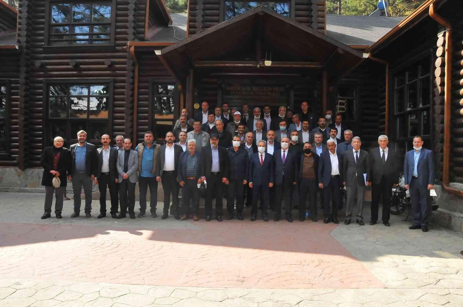 Akşehir'de Muhtarlar Günü Etkinlikleri
