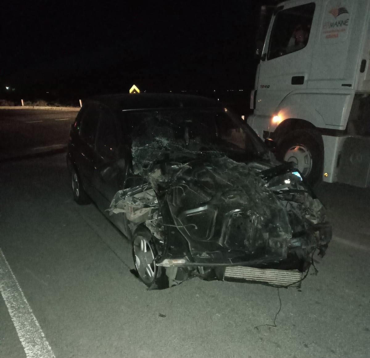 Konya'da kamyonet ile otomobil çarpıştı: 5 yaralı