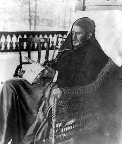 Ulysses Grant egy hónappal a halála előtt; forrás: wikipedia