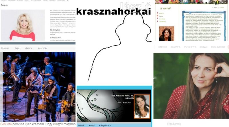 Magyar írói honlapok