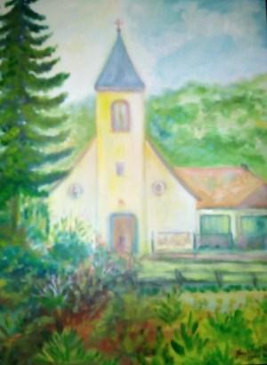Sziklai Károly Mogyorósbánya templom