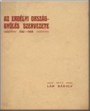 Lám Károly: Az erdélyi országgyűlés szervezete