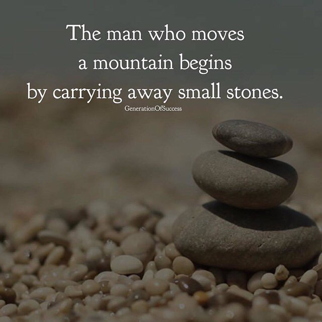acquire ip like moving small stones