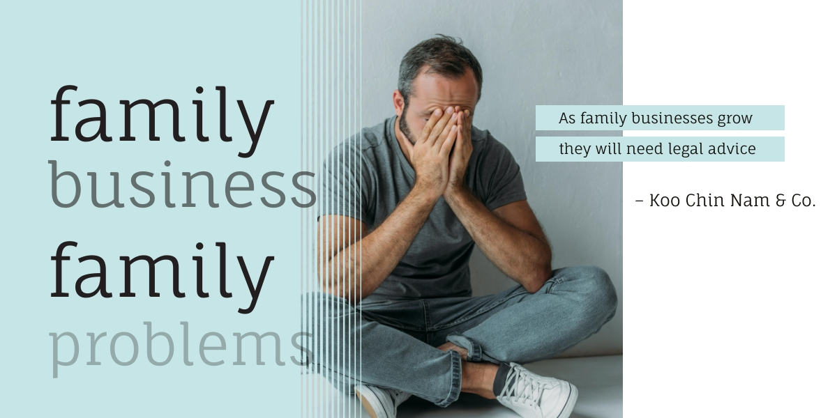 Family businesses face family problems, we can help.