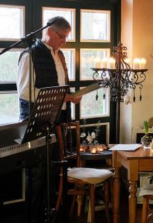 Eggert Wilkens liest Weihnachtsgeschichten