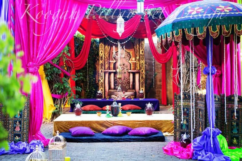 Gallery koogan pillay wedding decor durban for Arabian wedding decoration ideas