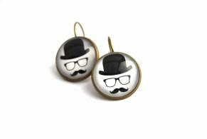 Hanging earrigns by Kookki Designs