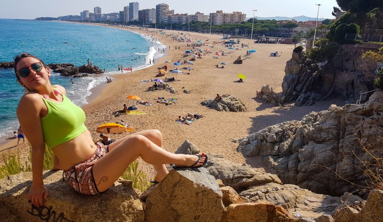 WHICH AWESOME CITY CAN BE FOUND CLOSE TO BARCELONA?