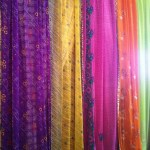Angeethi: colourful cloths decorate the restaurant