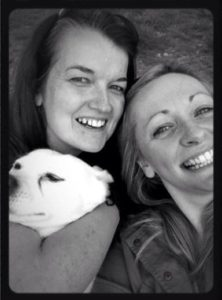 Yorkshire Sculpture Park: selfie with my friend and her pooch