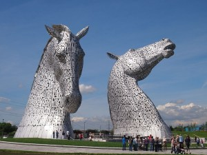 Highland fairytale: photo of The Kelpies