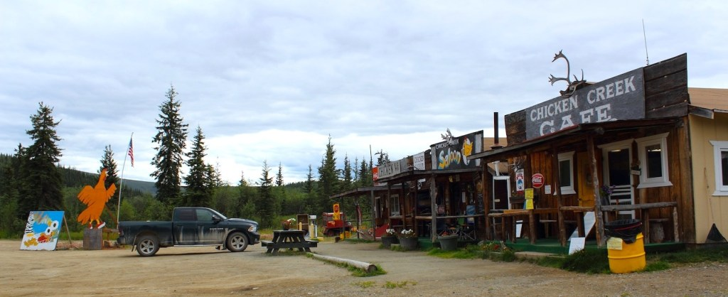 Chicken, Alaska: a small town in Alaska, USA