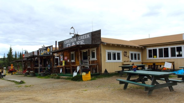 A town called Chicken, Alaska