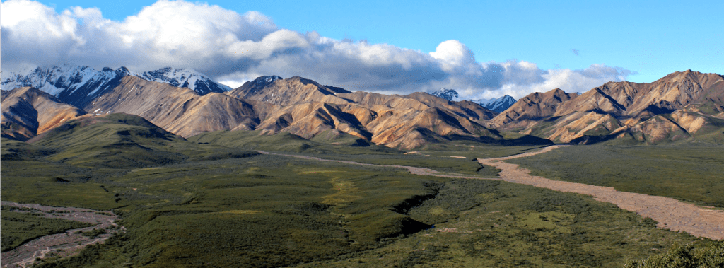 Denali National Park: the Alaska Range mountains