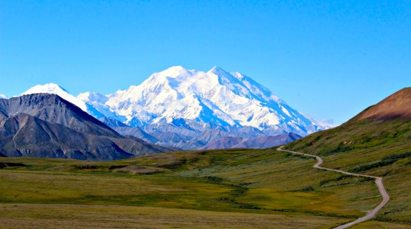 Road trip through Denali National Park