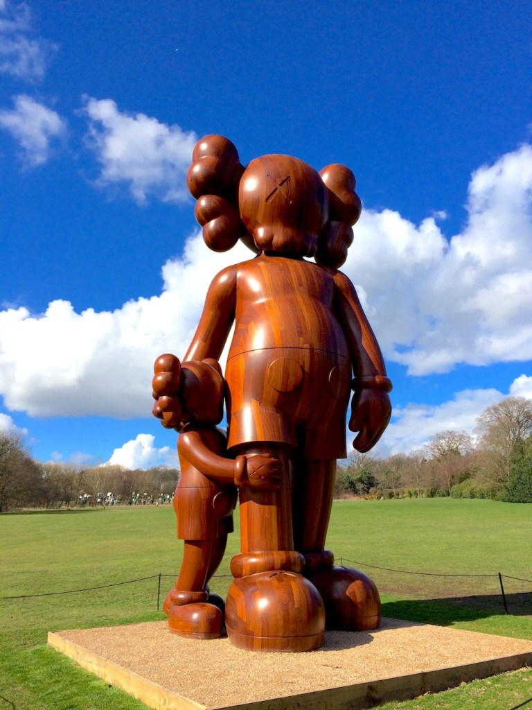 Yorkshire Sculpture Park: KAWS display 4
