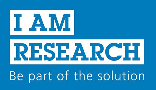 I Am Research - Be part of the solution.