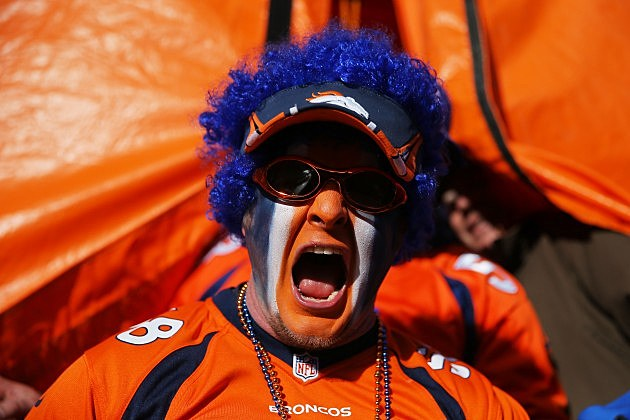 Charger Beats Bronco Fans Clash In San Diego