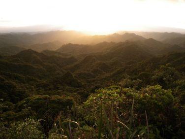 Sunset at Poamoho