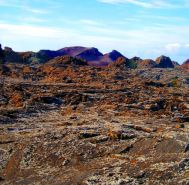 Lanzarote's alien landscape